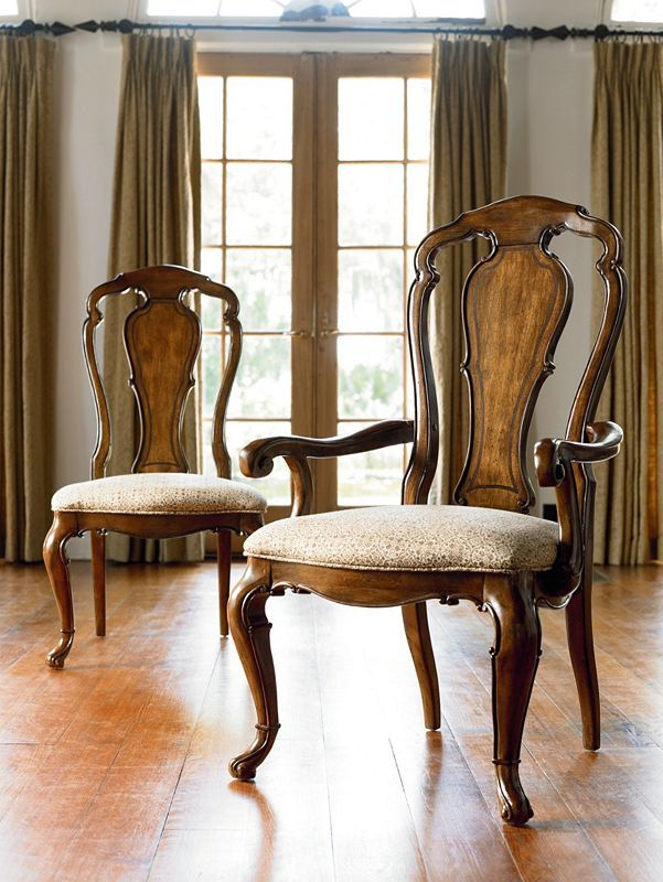 Beau Granada Arm And Side Chairs   Thomasville Furniture   Ernest Hemingway  Collection