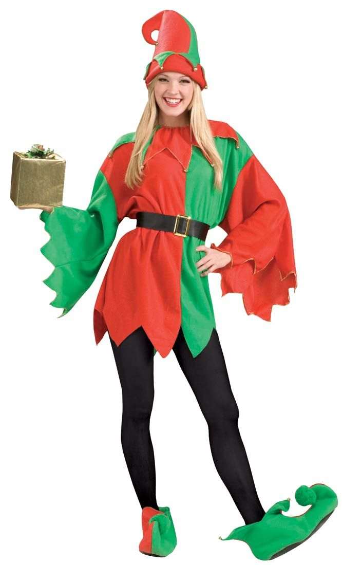 Christmas Elf Costume | Santau0027s Helper Elf Christmas Costume  sc 1 st  Pinterest & Christmas Elf Costume | Santau0027s Helper Elf Christmas Costume ...
