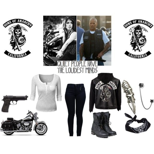31dea1b4 The Female Son - Sons Of Anarchy - Happy Lowman by aliiceroseee on Polyvore