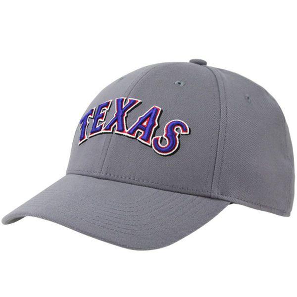 0f8697a6918 Men s Texas Rangers Nike Charcoal Swoosh Performance Flex Hat