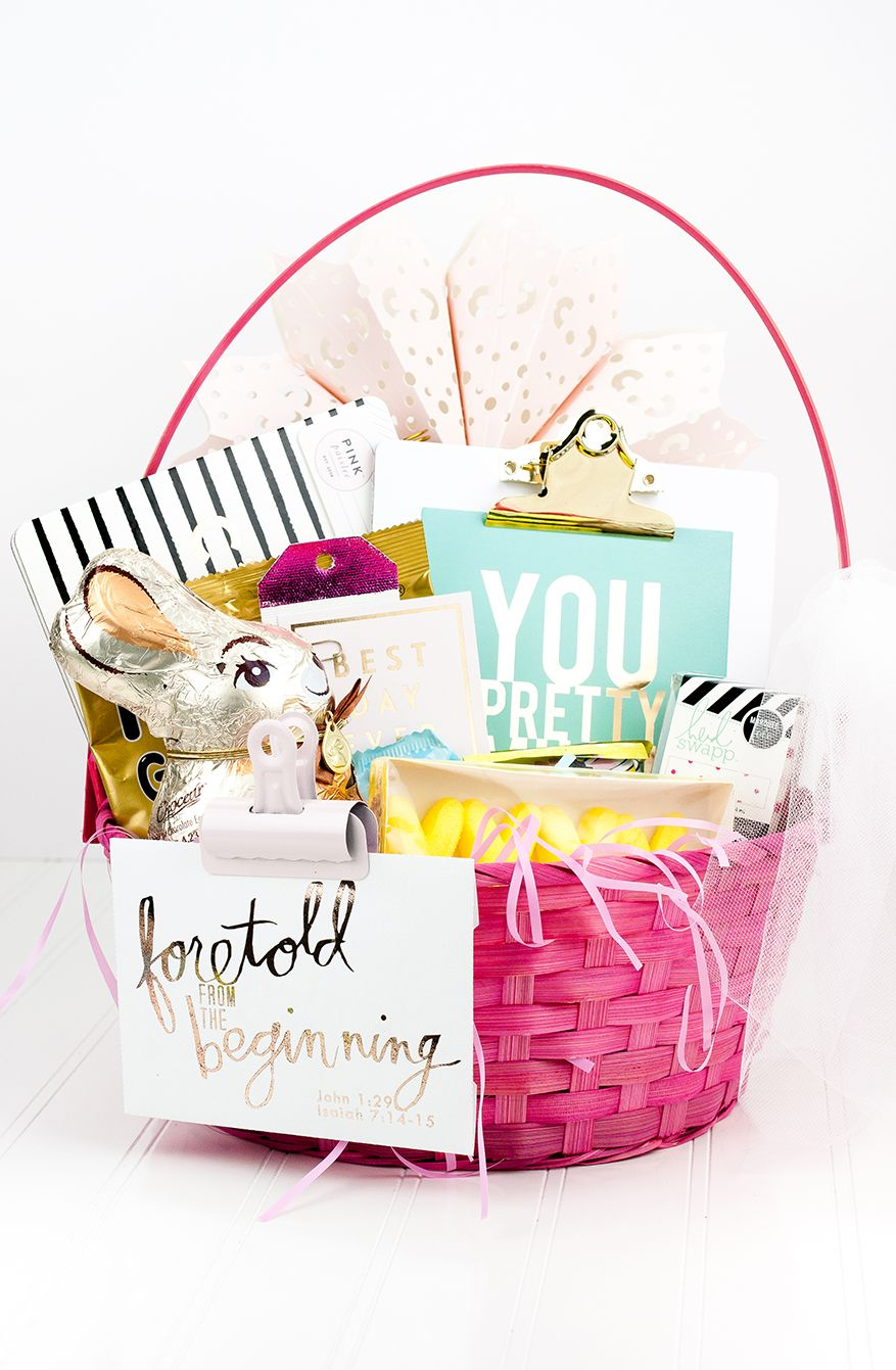a more grown-up Easter Basket | @MaggieWMassey for ...