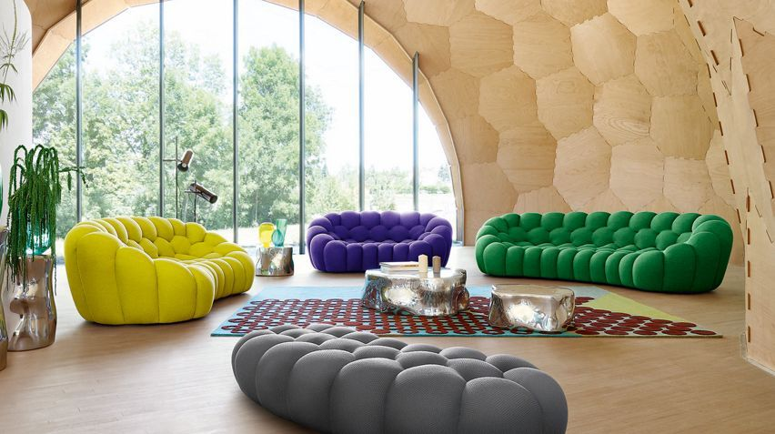 Bubble Cuir 4 Seat Sofa Sofas Sofa Beds Roche Bobois Modular Sofa Furniture Sofa Design