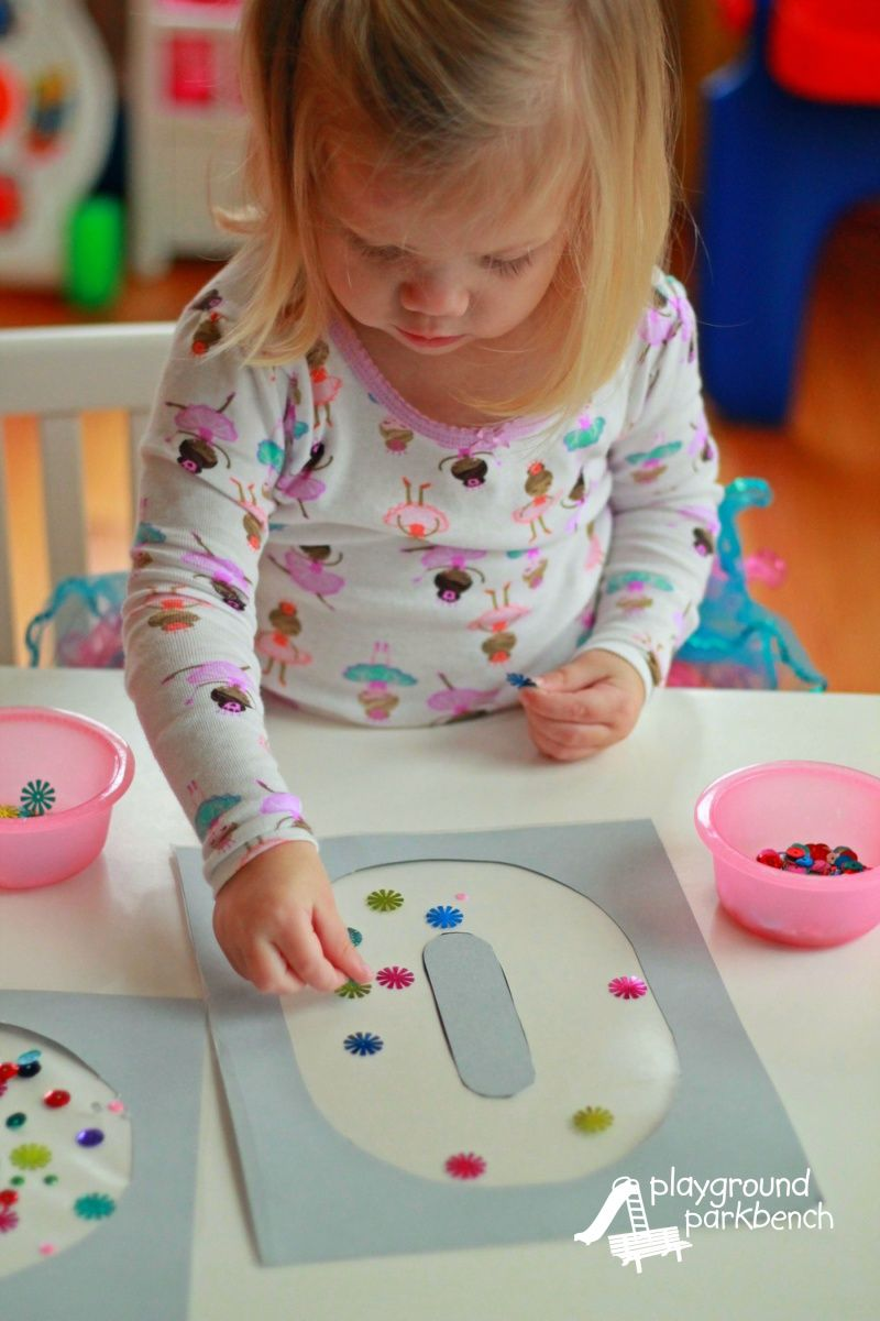 New Year's Craft for Toddlers