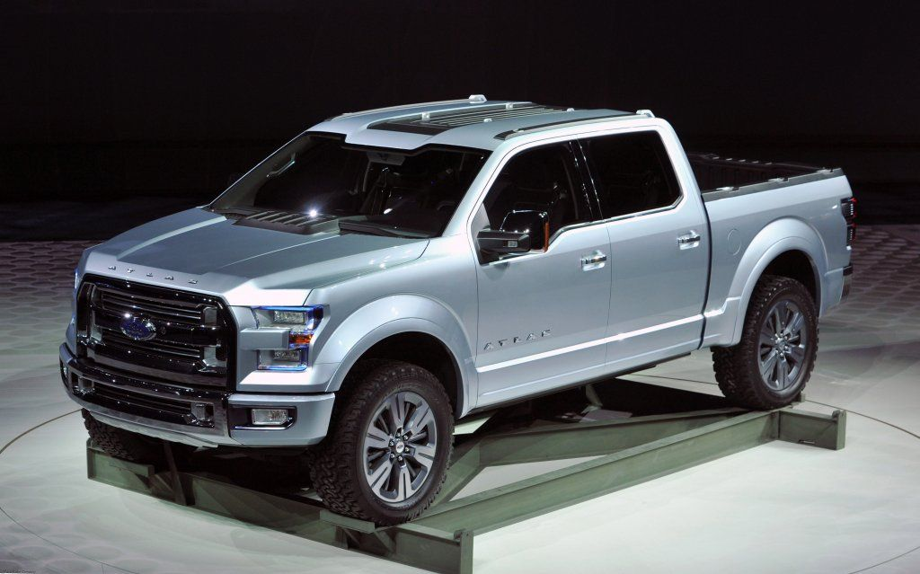Ford Atlas Concept Truck Photo Gallery Introduction At The NAIAS
