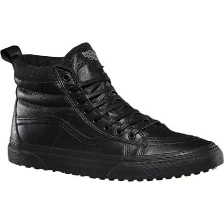 Vans Sk8-Hi MTE all black leather shoes