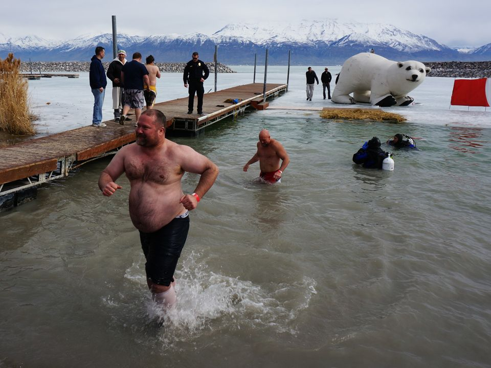 Confidence. Polar Plunge 2014. Read about it: http://www ...