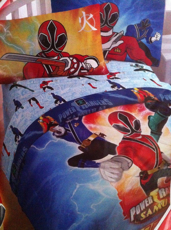 Power Ranger Samurai Comforter With Images Power Rangers Super