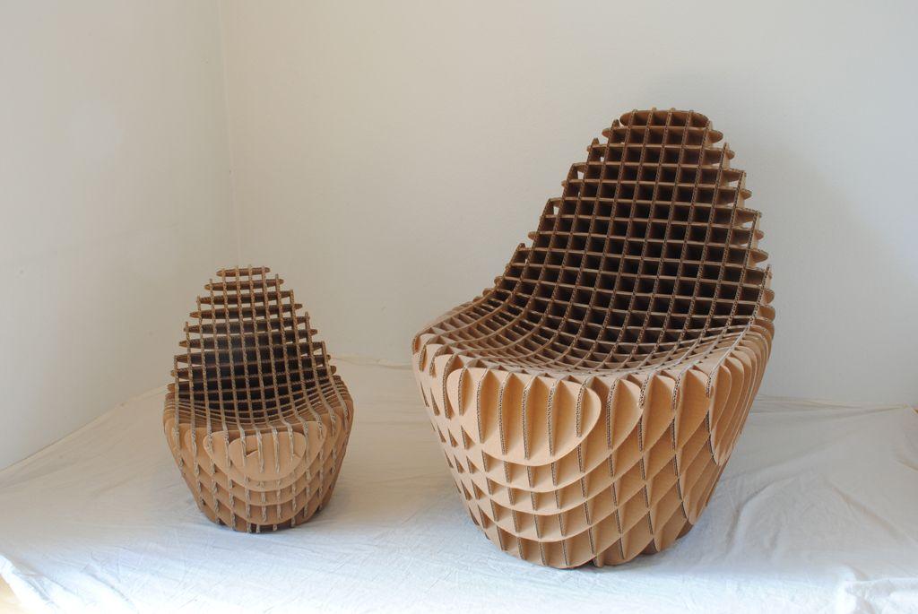 Cardboard and paper mache furniture learn how to make for Paper mache furniture ideas