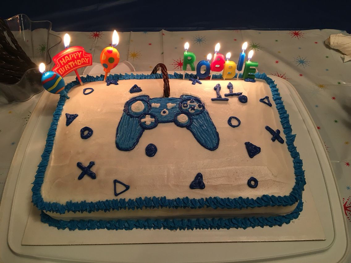 Video Game Controller Cake Playstation
