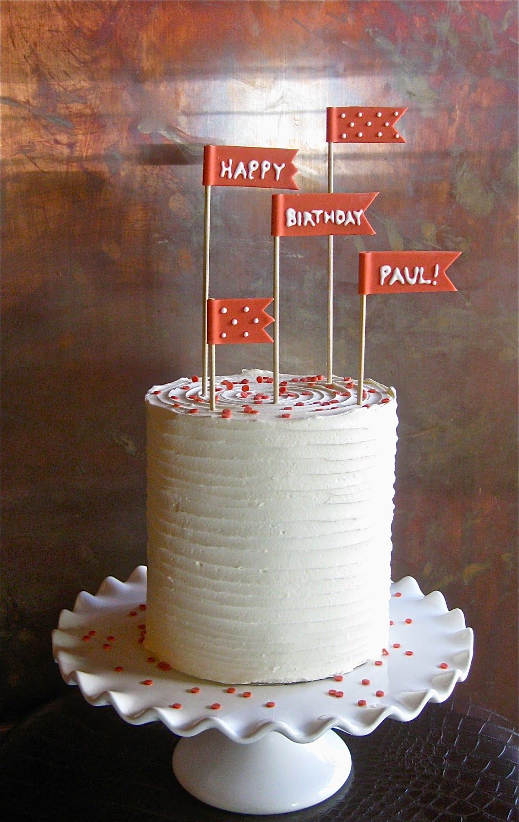 The Cake Faith Got By Mistake That Her Dad Was Supposed To Get Oh