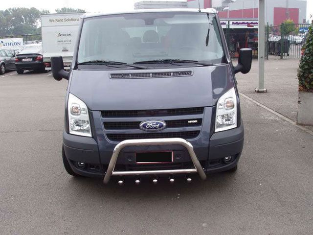 Details About Ford Transit Chrome Axle Nudge A Bar Bull Bar 2003