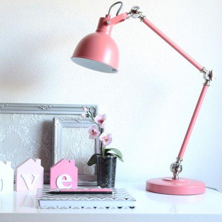 Schreibtischleuchte Altrosa Schreibtischlampe Lampe Altrosa