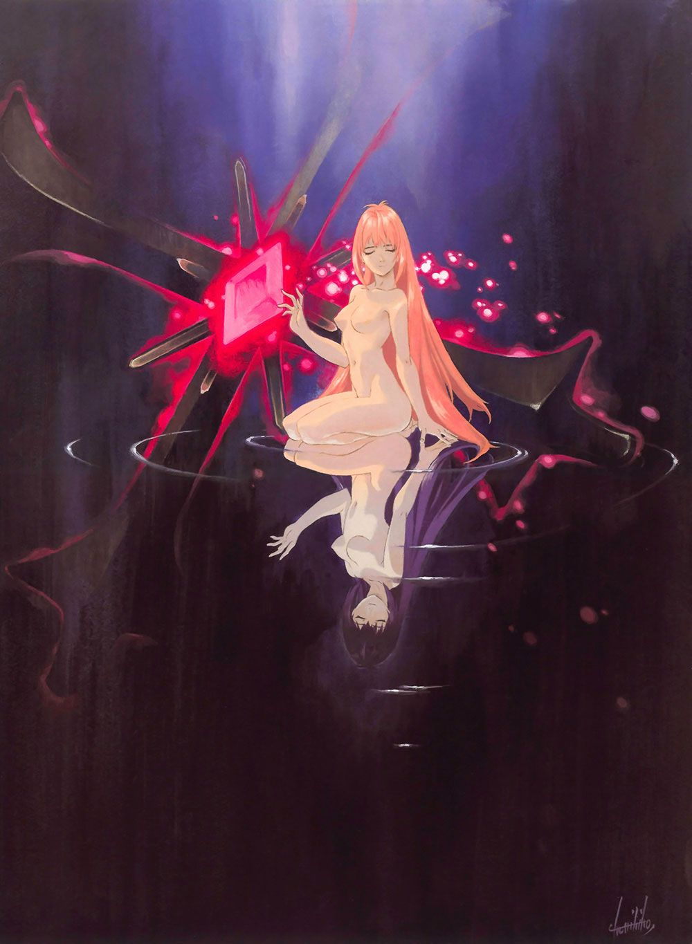 Art Book Cover Characters Art Xenogears Book Cover Art Character Art Book Art