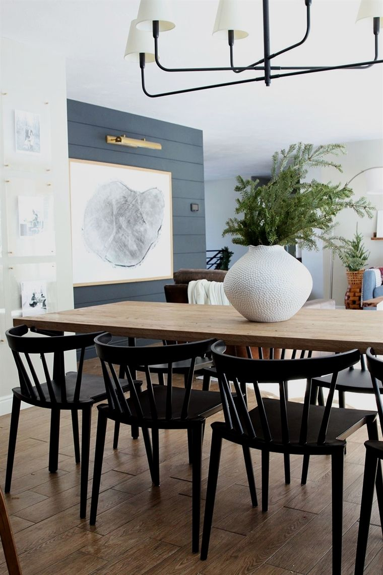 New Low Back, Modern Spindle Chairs for the Dining Room