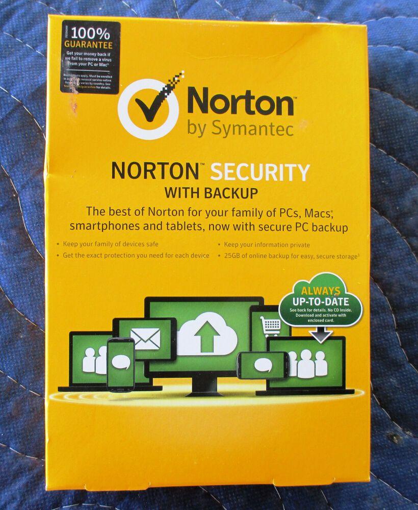 eBay #Sponsored Norton Security Premium with 25 GB BACKUP 1 User