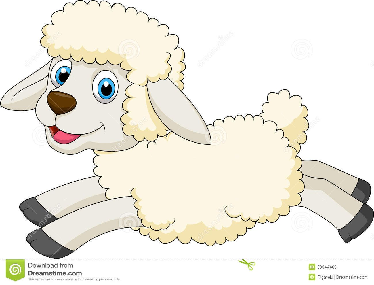 Cute Sheep Cartoon Jumping Download From Over 57 Million High Quality Stock Photos Images Vectors Sign Up For Fre Sheep Cartoon Cute Sheep Cartoon Giraffe