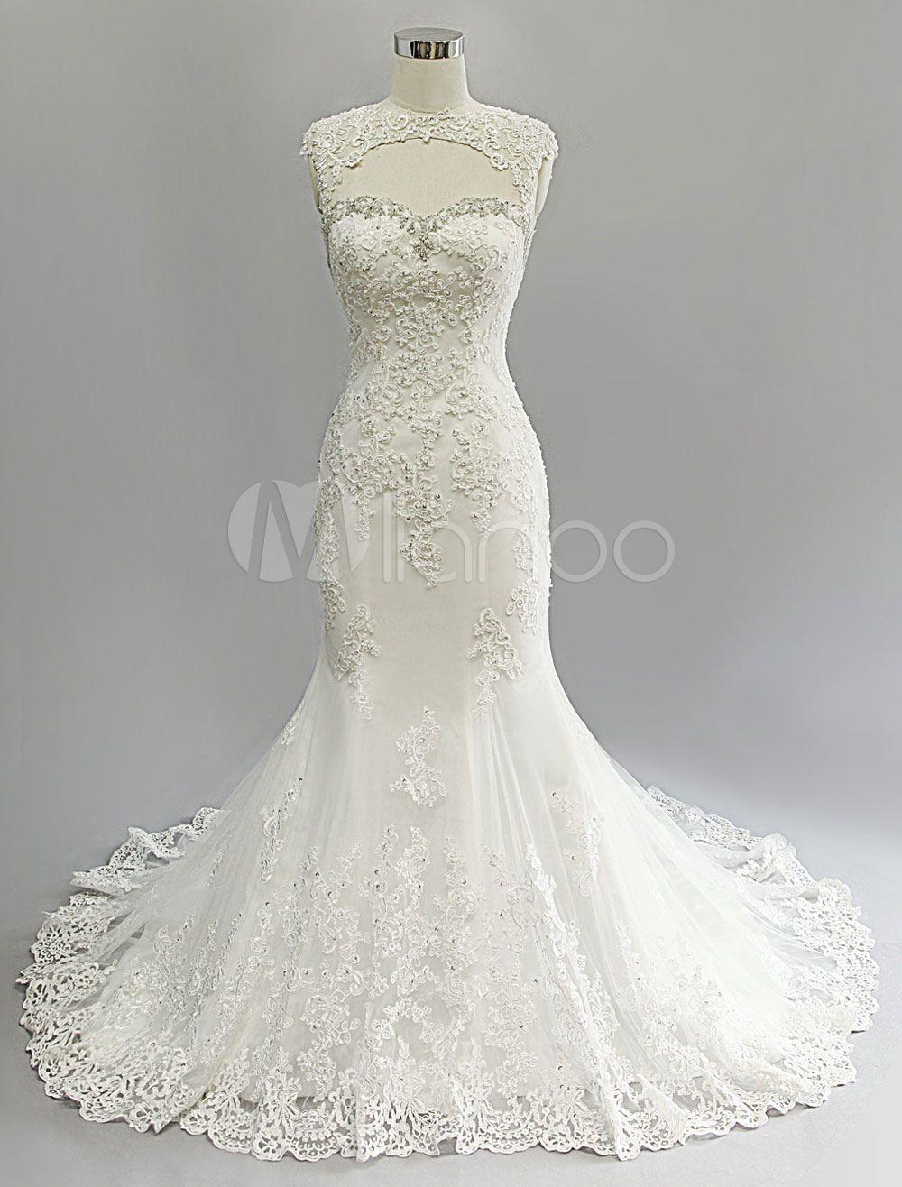 50s Wedding Dress Mermaid