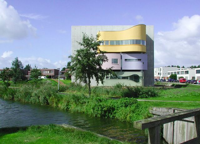 Netherlands house contemp