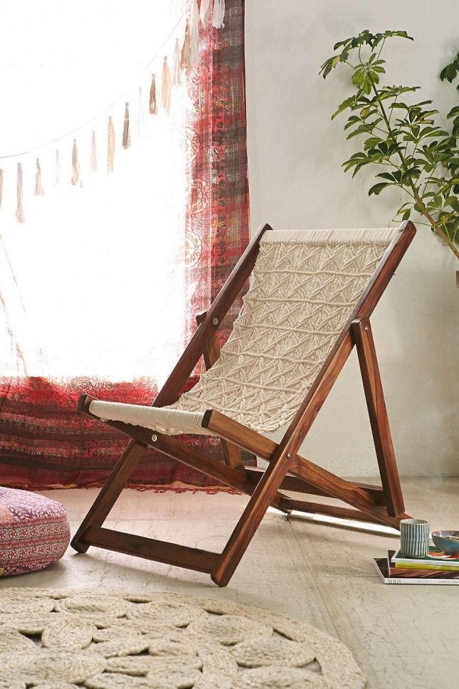 13 Seating Solutions For Small Space Living Macrame Furniture Diy Chair Furniture For Small Spaces