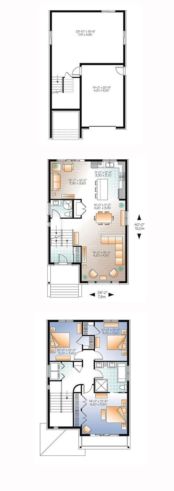 House Plans 8x12m House Plans Free Downloads House Layout Plans House Plans Home Design Plan