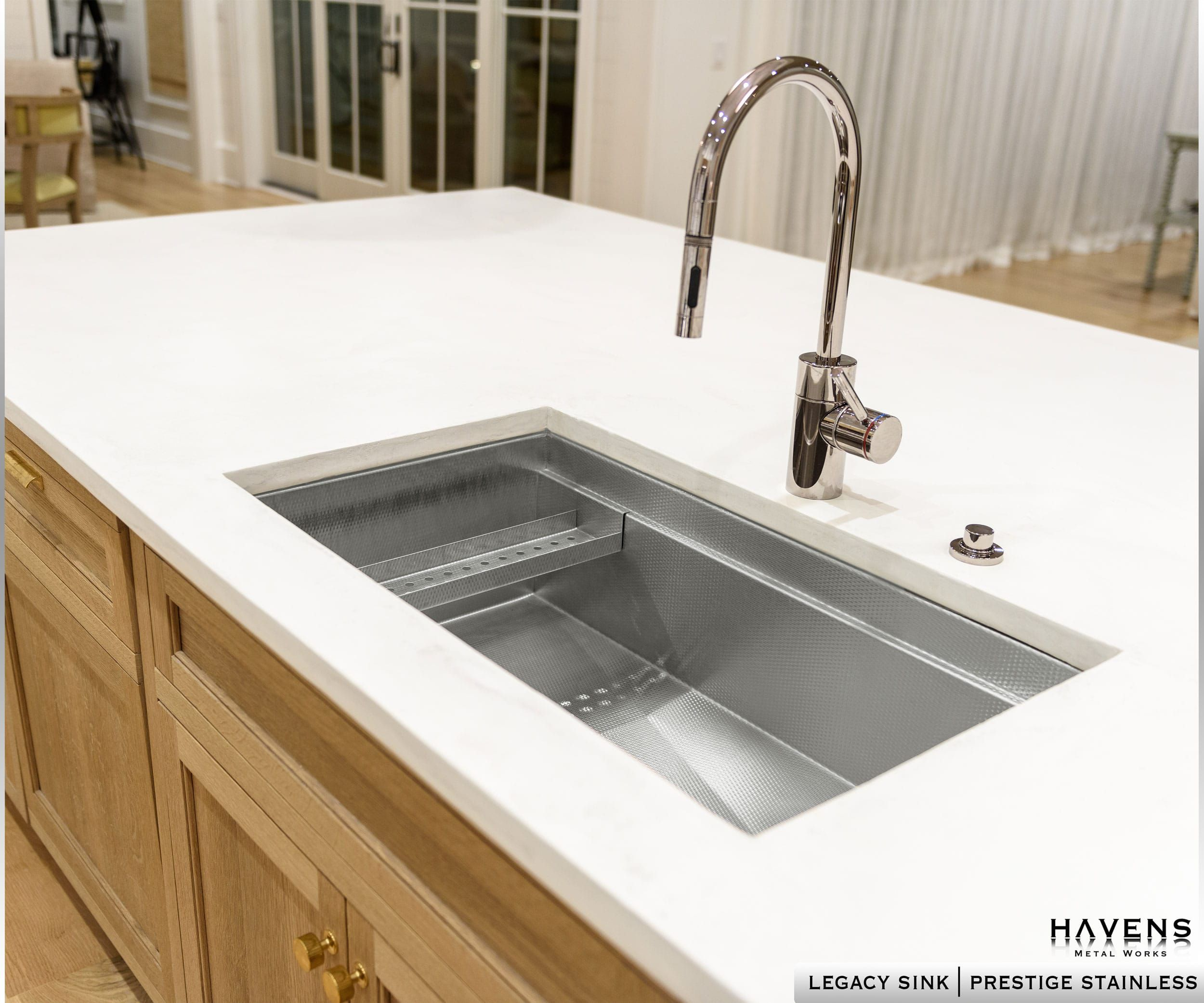 Waterstone Plp 9350 Faucet Paired With A Havens Luxury Metals
