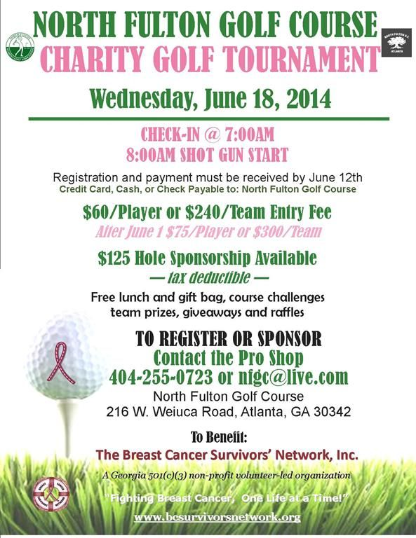 Charity golf tournaments breast cancer