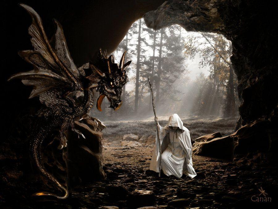 The Dragon Lord by Canankk.deviantart.com on @deviantART