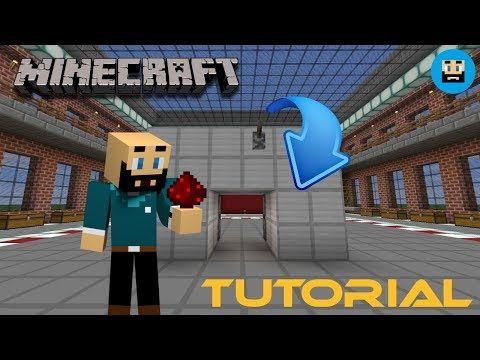 Minecraft Tutorial 2x2 Piston Deur / Hidden 2x2