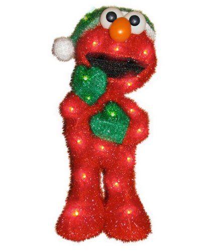 Elmo inflatable Christmas decorations