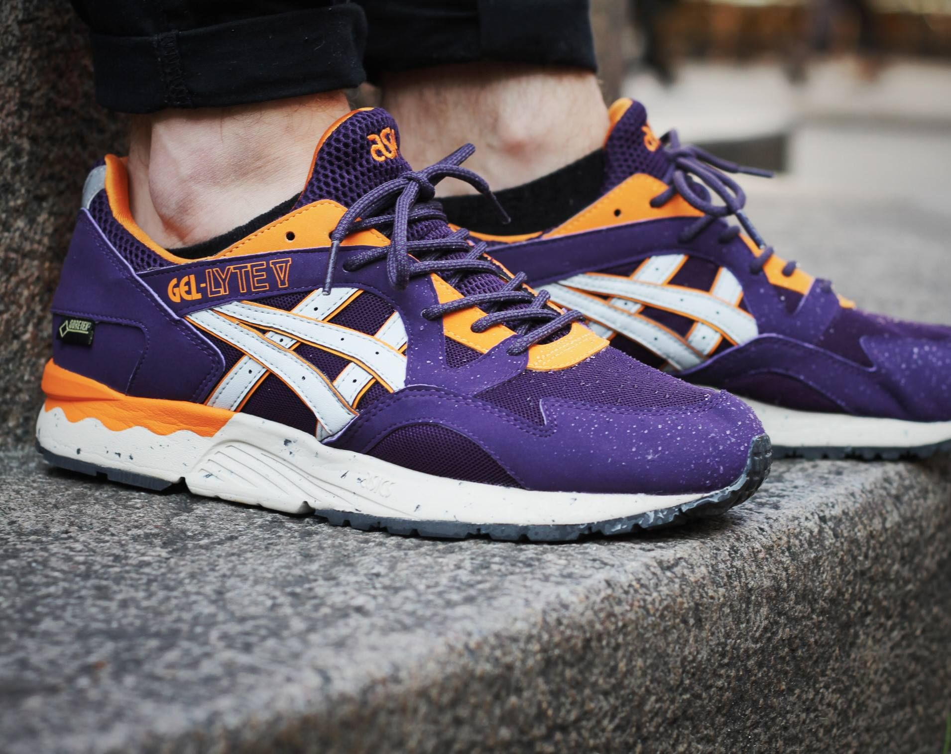 Asics Gel Lyte V Gore-Tex  Purple Orange  472fef644d3f