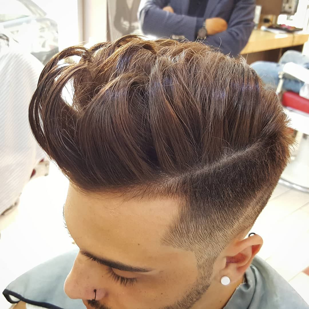 best men's haircut for straight thick hair