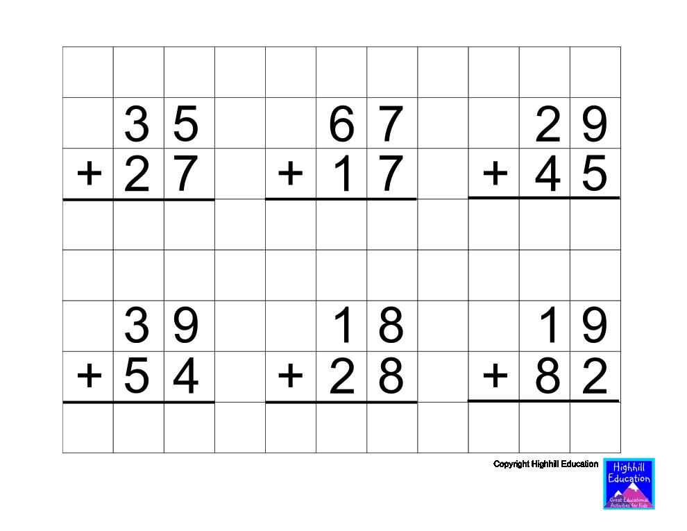 Adding 9 Math Worksheet - Woo! Jr. Kids Activities