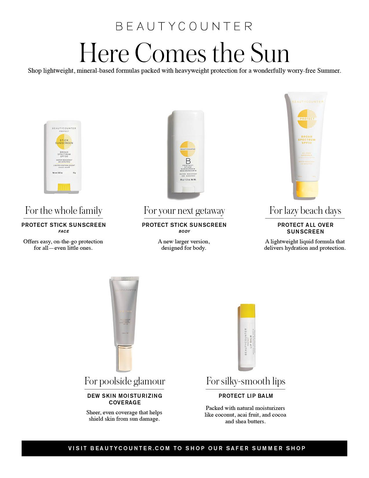 Here Comes The Sun A Sunscreen For Every Occasion I Love The