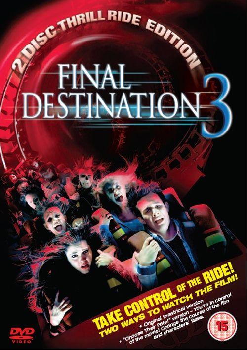 News Final Destination 3 Uk Dvd R2 Dvdactive Final Destination 3 Final Destination Movies Scary Movies