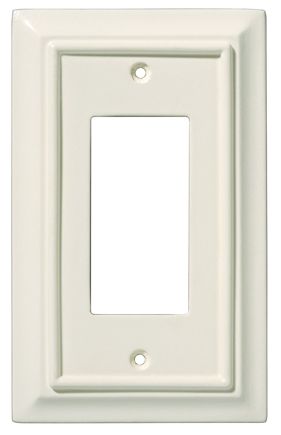 Brainerd 126332 Wood Architectural Single Decorator Wall Plate