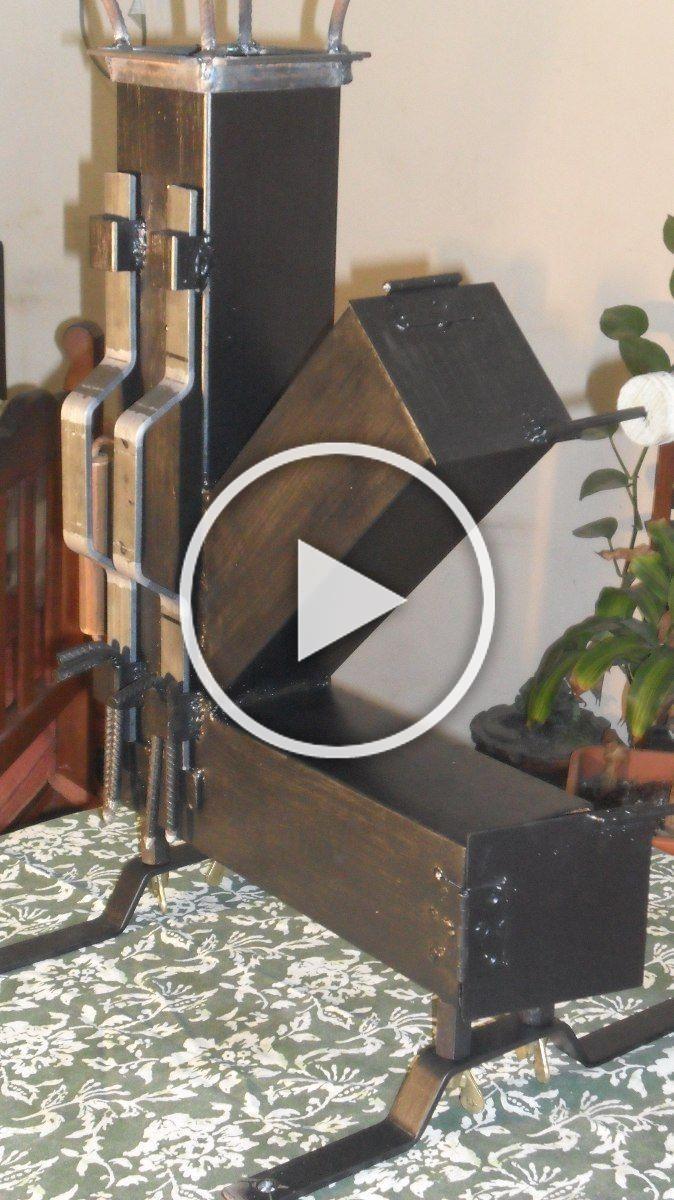 Pin De Jhair Restrepo En Movies Estufas Cohetes Cocina Rocket Hornos De Lena Metalicos