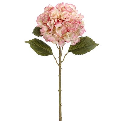 26 Silk Hydrangea Flower Spray Rose Cream Hydrangea Stem In 2020 Silk Hydrangeas Artificial Flowers Artificial Flowers And Plants