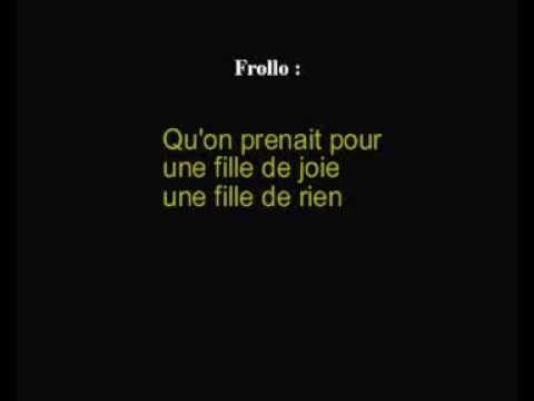 Notre Dame De Paris Belle French Lyrics Incoming Call Screenshot Incoming Call Music
