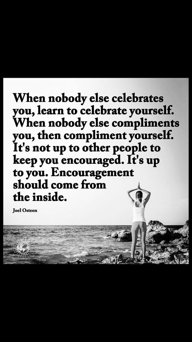 Learn to celebrate yourself ❤️