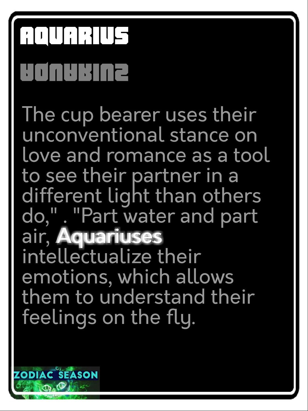 Aquarius Horoscope 12222 – Planetary Transit: