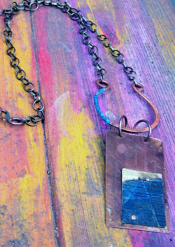 Hamra Dom  Handmade etched copper and brass by juliettemwilliams