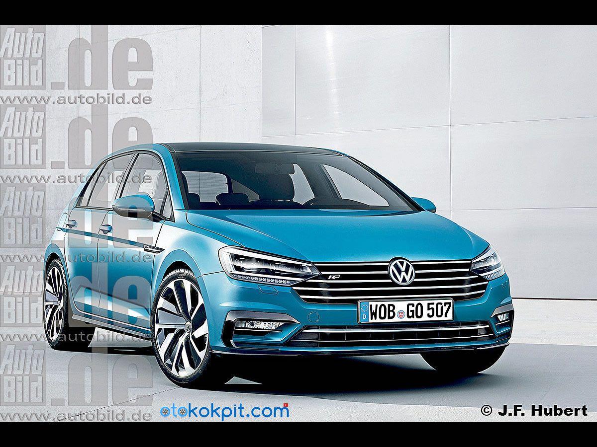 2018 yeni kasa volkswagen golf 8 2018 model otomobiller. Black Bedroom Furniture Sets. Home Design Ideas