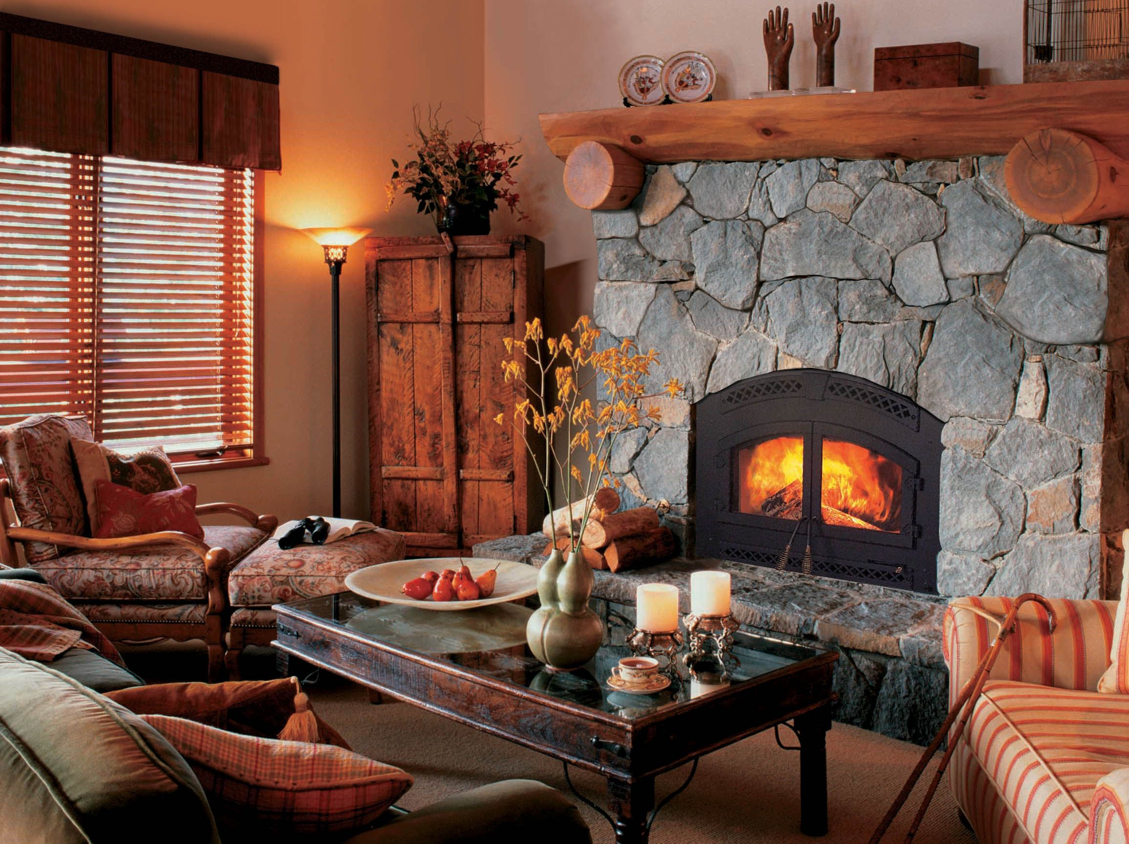 Wood Fireplace Wood Fireplace Rustic Living Room Design Rustic