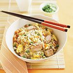 Chicken Fried Rice with Vegetables Recipe | MyRecipes.com