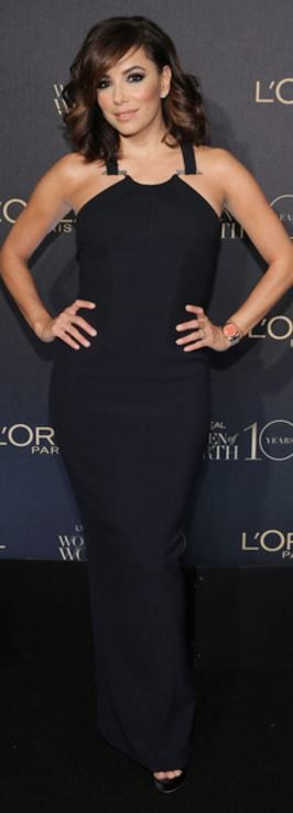 Eva Longoria's wearing  Dress – Amanda Wakeley
