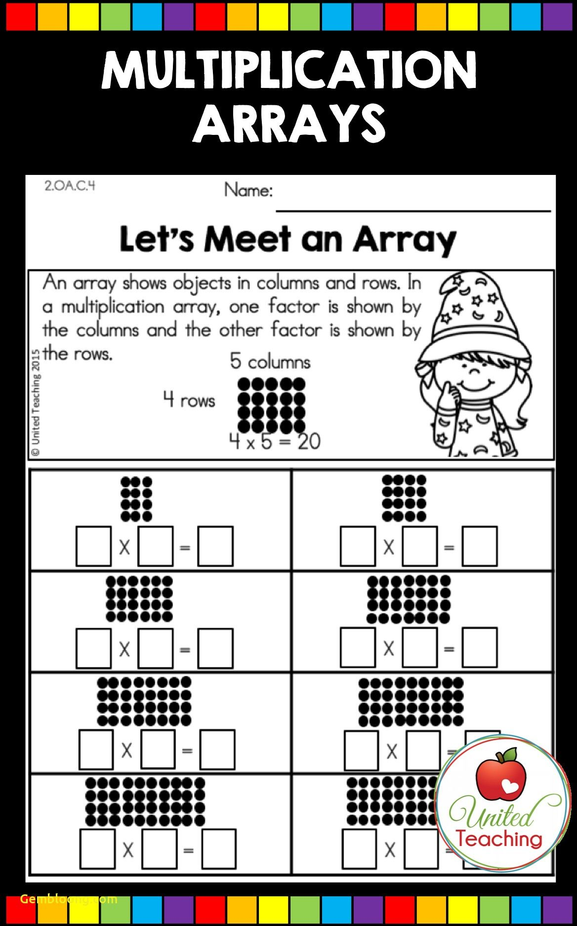 Prime Multiplication Repeated Addition Worksheets