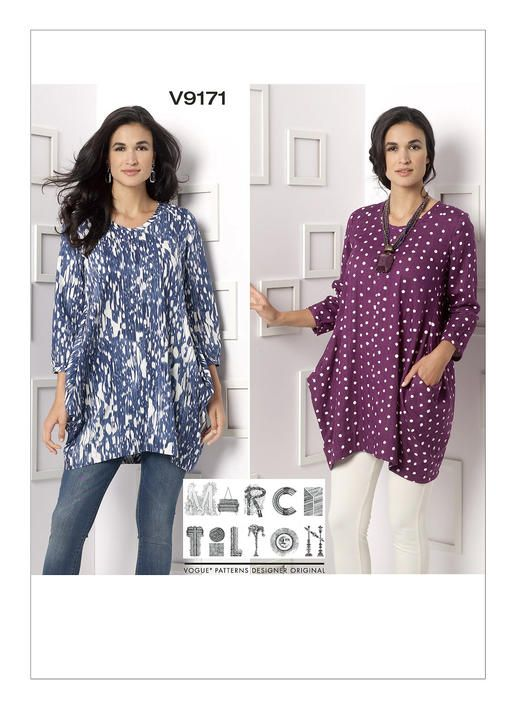 V9171 Vogue Patterns Plus Size Sewing Patterns And Ideas