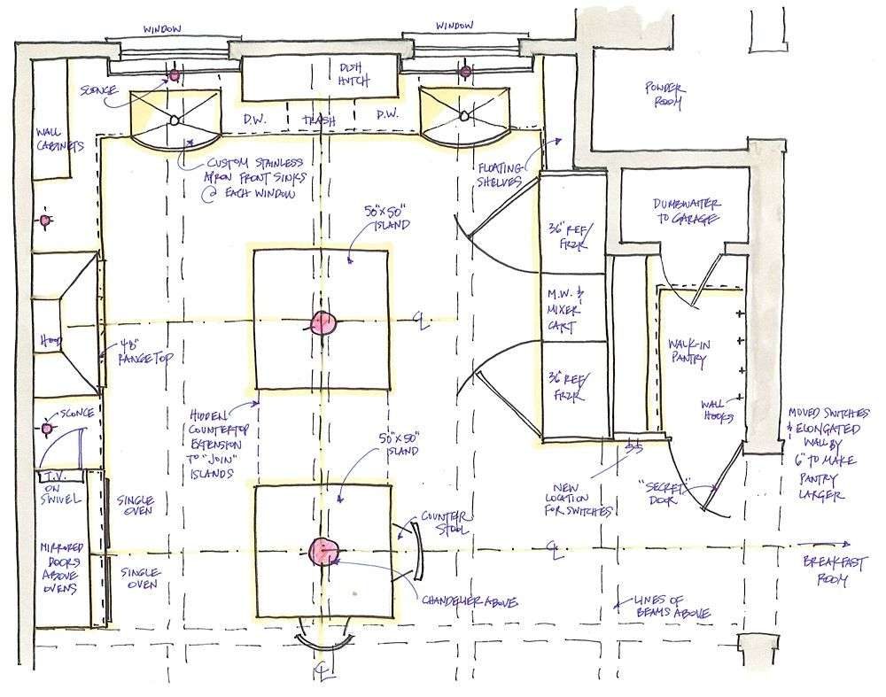 Week 2 Of A Traditional Kitchen Design Function Then Fun Kitchen Floor Plans Traditional Kitchen Design