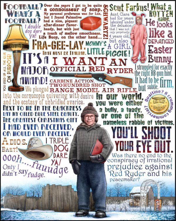 Heisenberg Bueller And The Red Ryder Neatorama Christmas Story Movie Christmas Story Quotes Christmas Movie Quotes