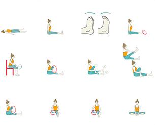 beginner yoga  pawanmuktasana series 1 rheumatoid